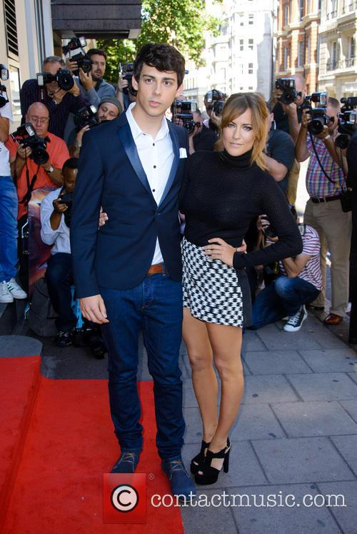 Matt Richardson and Caroline Flack 1