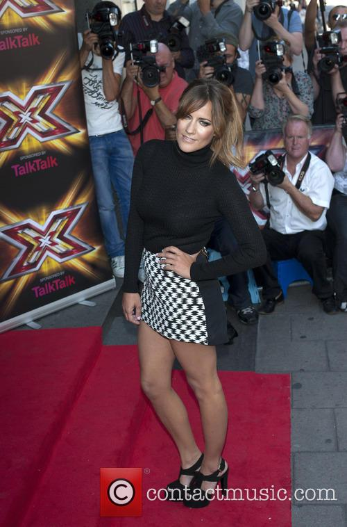caroline flack x factor press launch 3841316