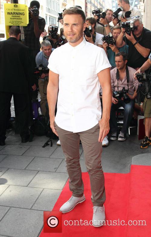 Gary Barlow, Mayfair Hotel London, The X Factor