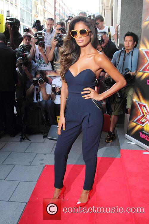 Nicole Scherzinger, Mayfair Hotel London, The X Factor