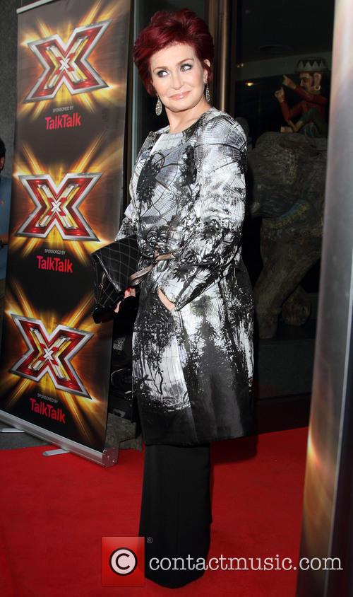 Sharon Osbourne at 'X Factor' launch