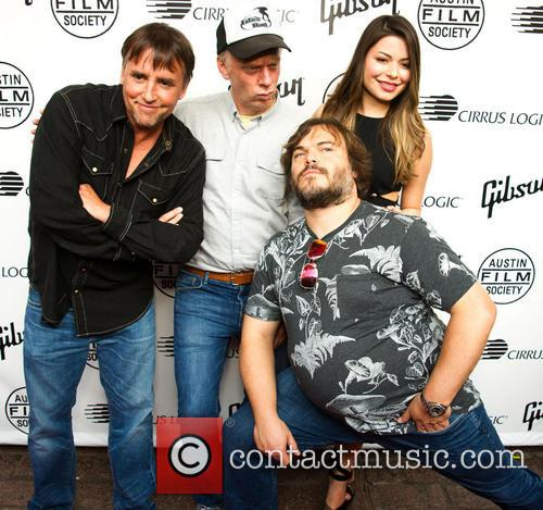 Richard Linklater, Mike White, Miranda Cosgrove and Jack Black 2