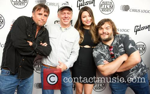 Richard Linklater, Mike White, Miranda Cosgrove and Jack Black 5