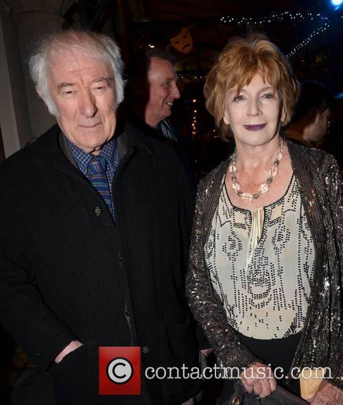 Seamus Heaney and Edna O'Brien