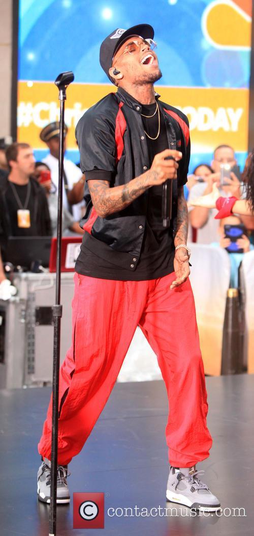 Chris Brown tall