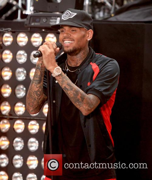 Chris Brown 40