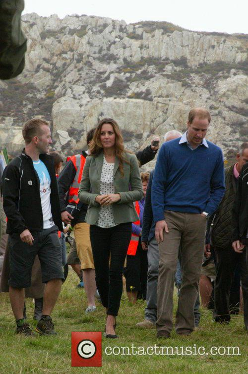 Prince William, Kate Middleton, Ring Of Fire Race, Anglesey