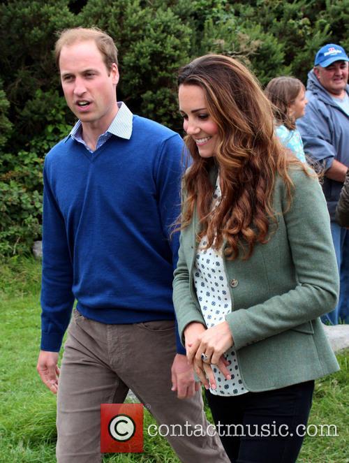 Prince William, Duke of Cambridge, Catherine, Duchess of Cambridge and Kate Middleton 7