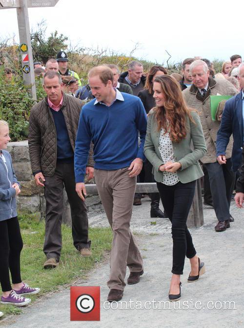 Prince William, Duke of Cambridge, Catherine, Duchess of Cambridge and Kate Middleton 15