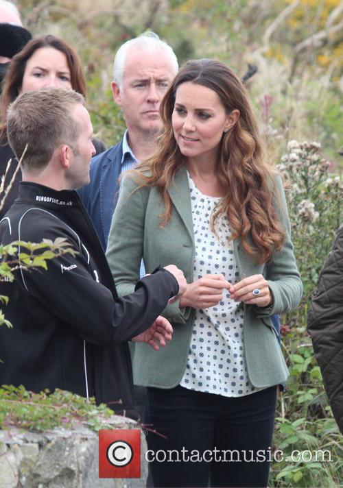 Prince William, Duke of Cambridge, Catherine, Duchess of Cambridge and Kate Middleton 16