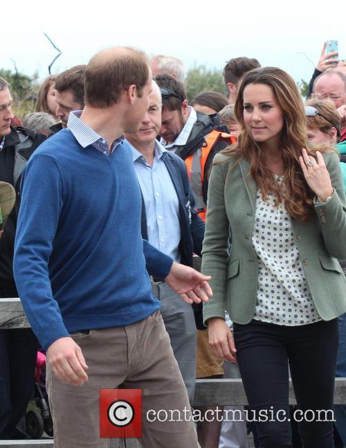 Prince William, Duke of Cambridge, Catherine, Duchess of Cambridge and Kate Middleton 20