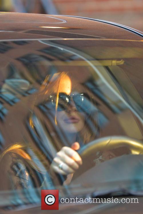 Lindsay Lohan Car