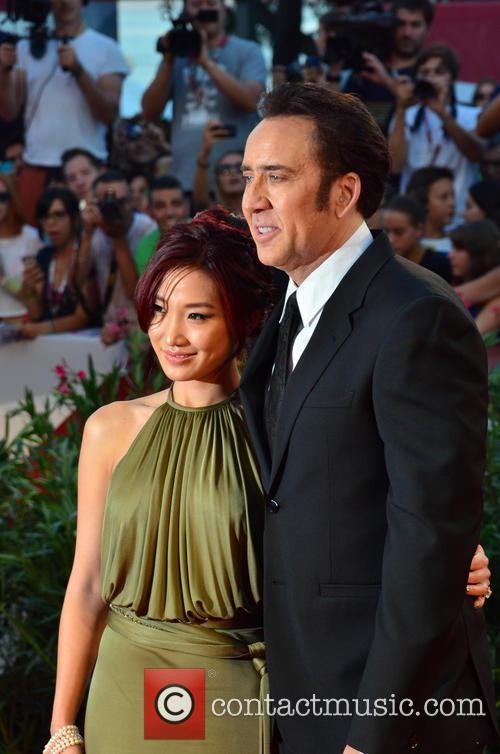 Nicolas Cage and Alice Kim 7