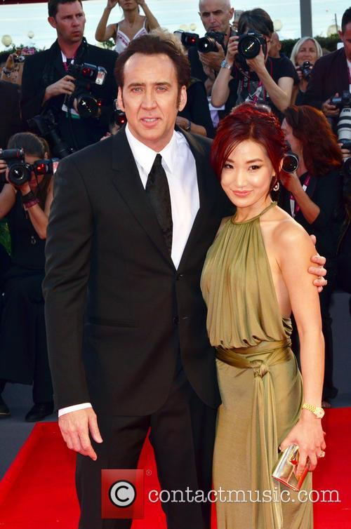 Nicolas Cage and Alice Kim 1
