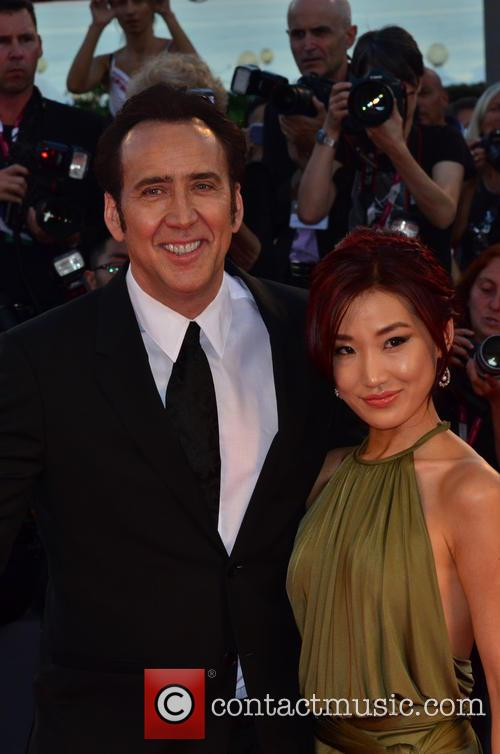 Nicolas Cage, Alice Kim, Venice Film Festival