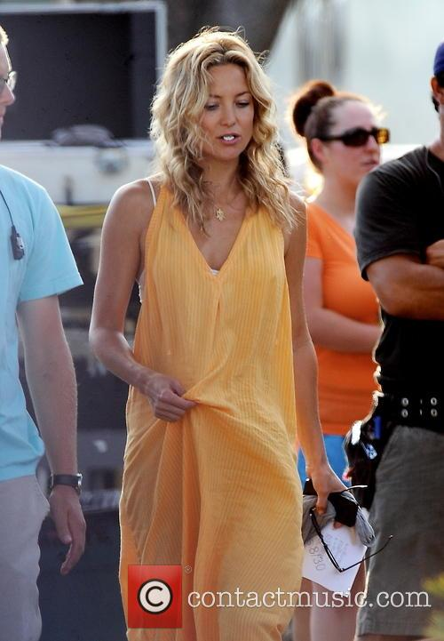 Kate Hudson on the set of  'Wish I Was Here'