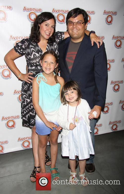 Kristen Anderson Lopez, Bobby Lopez and Family