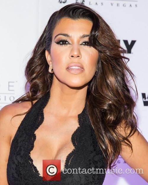 Kourtney Kardashian, Hyde Nightclub at Bellagio Hotel