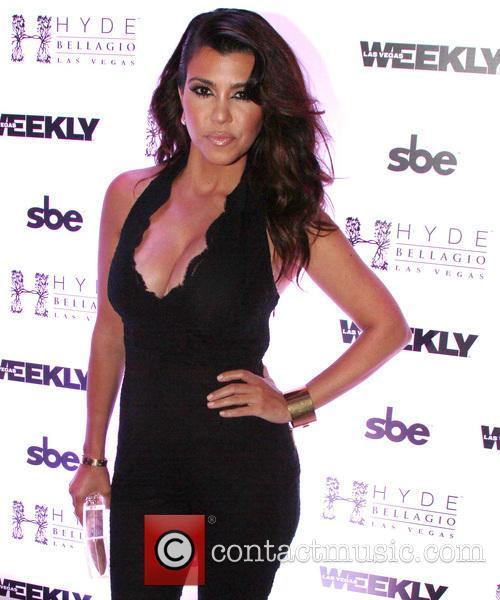 Kourtney Kardashian hosts a night at Hyde Bellagio