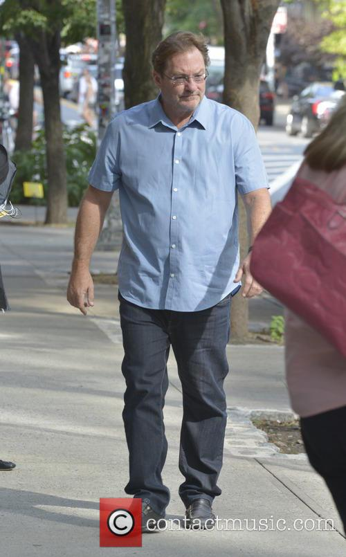 Stephen Root out and about in Soho