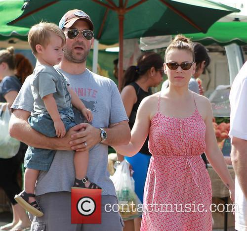 Milo Bugliari, David Bugliari and Alyssa Milano 1