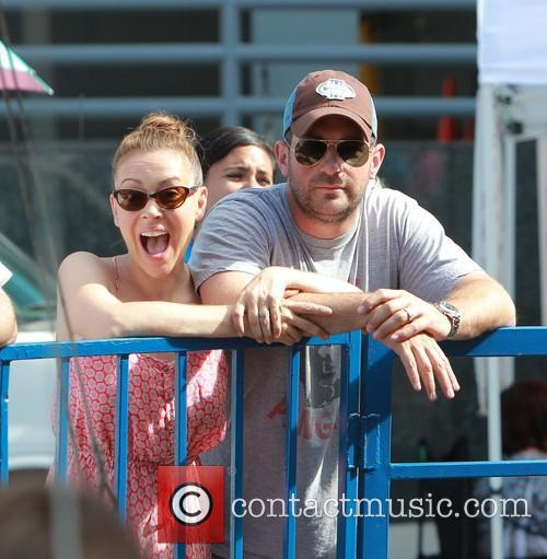 Alyssa Milano and David Bugliari 6