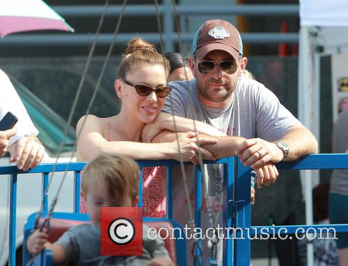 Alyssa Milano and David Bugliari 1