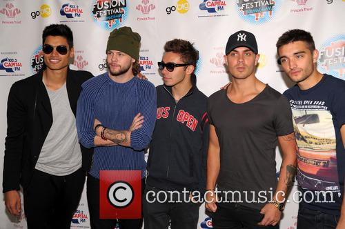 The Wanted, Max George, Siva Kaneswaran, Jay Mcguiness, Nathan Sykes and Tom Parker 1