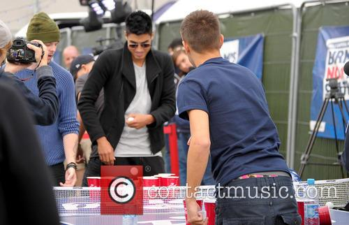 The Wanted, Siva Kaneswaran and Tom Parker 8