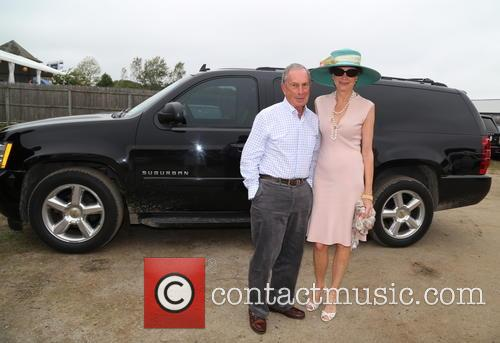 Mayor Michael Bloomberg and Diana Taylor 2