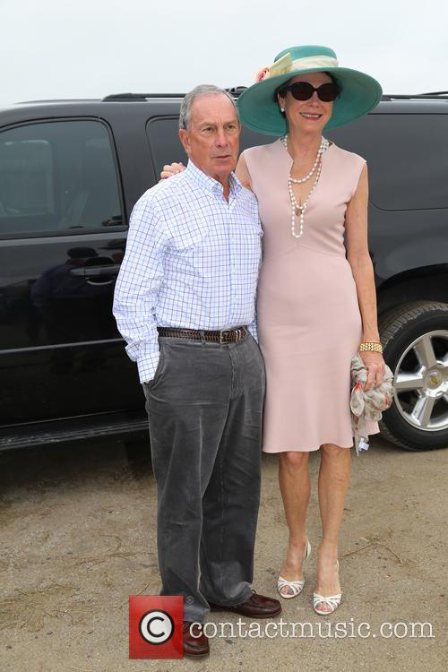 Mayor Michael Bloomberg and Diana Taylor 4