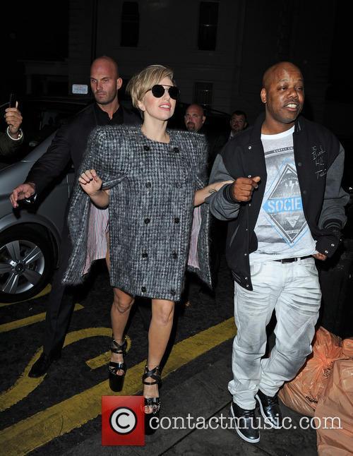 Lady Gaga Arriving At Boujis