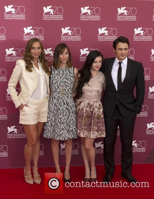 Jacqui Getty, Gia Coppola, Claudia Levy and James Franco 3