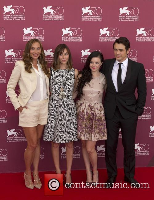Jacqui Getty, Gia Coppola, Claudia Levy and James Franco 6