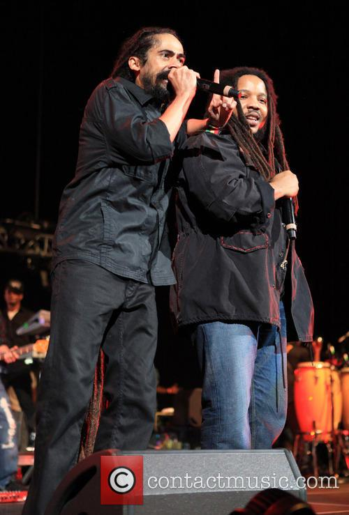 Damian Marley and Stephan Marley 8