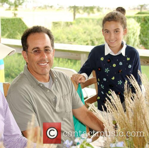 Jerry Seinfeld and Daughter Sascha Seinfeld 1