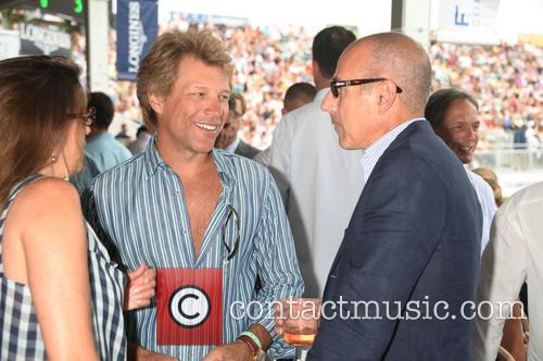 Jon Bon Jovi and Matt Lauer 2