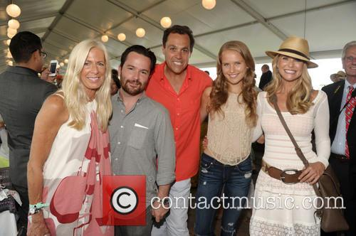 Libby Edelman, Jesse Edelman, Sam Edelman, Christy Brinkley and Sailor Cook 1