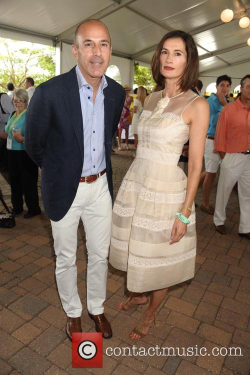 Matt Lauer and Annette Lauer 1