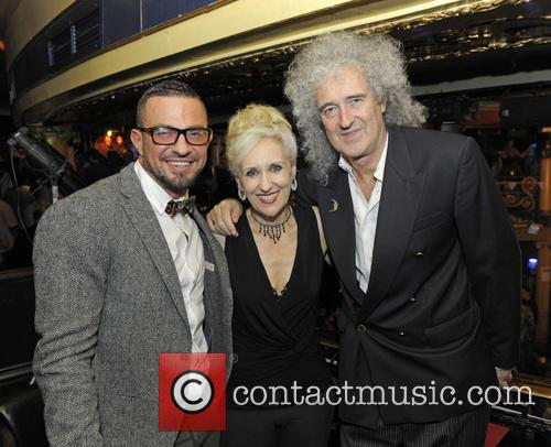 Robin Windsor, Anita Dobson and Brian May 9