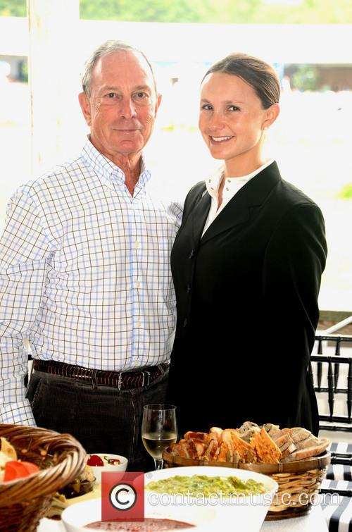Mayor Michael Bloomberg and Georgina Bloomberg