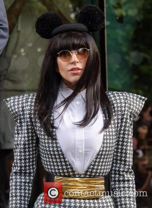 Lady Gaga Mickey Mouse Ears