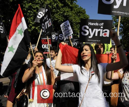 Syria and Protesters 11