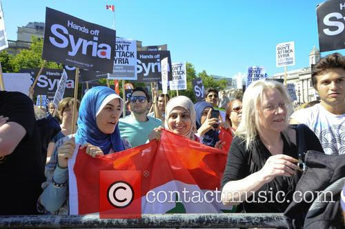 Syria and Protesters 4