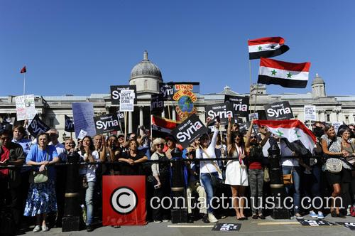 Syria and Protesters 6