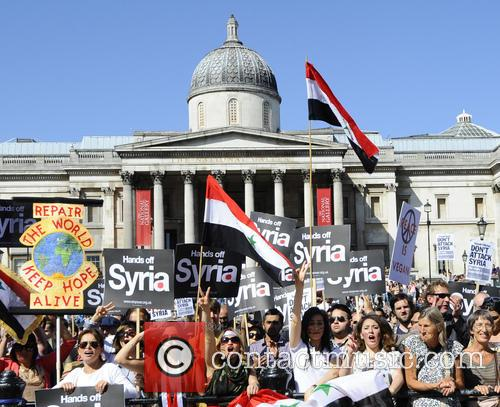 Syria and Protesters 7
