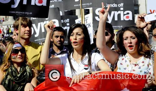 Syria and Protesters 9