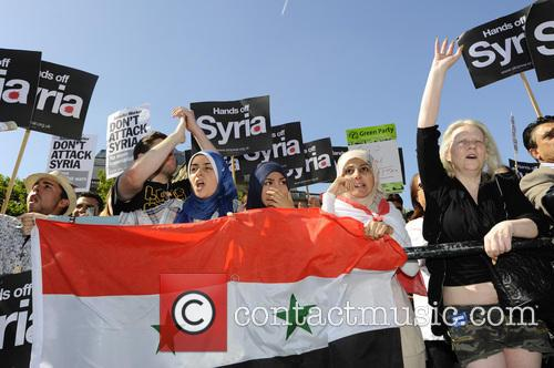 Syria and Protesters 1