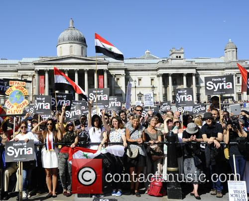 Syria and Protesters 12