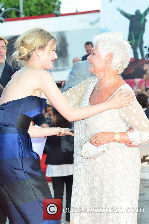 Judy Dench and cast member 2